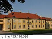 Купить «vienna schonbrunn palace annex building atrium», фото № 33196086, снято 26 мая 2020 г. (c) PantherMedia / Фотобанк Лори