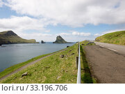 The island Gasholmur on the Faroe Islands. Стоковое фото, фотограф Andreas Altenburger / PantherMedia / Фотобанк Лори