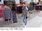 street shopping on prenzlauer berg. Стоковое фото, фотограф Erich Teister / PantherMedia / Фотобанк Лори