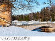 Купить «Пиль-башня. Павловск», эксклюзивное фото № 33203018, снято 8 марта 2019 г. (c) Александр Щепин / Фотобанк Лори