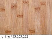 Текстура клееной бамбуковой доски. Стоковое фото, фотограф Игорь Долгов / Фотобанк Лори