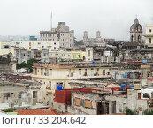 Купить «aerial view of Havana», фото № 33204642, снято 31 мая 2020 г. (c) PantherMedia / Фотобанк Лори