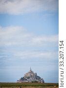 Mont Saint Michel. Стоковое фото, фотограф Mihai Barbu / PantherMedia / Фотобанк Лори