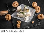 Купить «Italian gorgonzola», фото № 33207274, снято 4 августа 2020 г. (c) PantherMedia / Фотобанк Лори