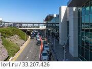Купить «Larnaca, Cyprus - November 12. 2019. Appearance of the international airport», фото № 33207426, снято 12 октября 2019 г. (c) Володина Ольга / Фотобанк Лори