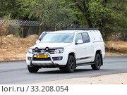 Купить «Volkswagen Amarok», фото № 33208054, снято 5 февраля 2020 г. (c) Art Konovalov / Фотобанк Лори