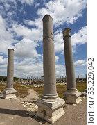Columns at Perga in Turkey. Стоковое фото, фотограф Scott Griessel / PantherMedia / Фотобанк Лори