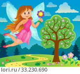 Happy fairy theme image 6. Стоковое фото, фотограф Klara Viskova / PantherMedia / Фотобанк Лори