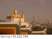 Купить «THAILAND BANGKOK WAT RATCHANATDARAM GOLDEN MOUNT», фото № 33232194, снято 2 июля 2020 г. (c) PantherMedia / Фотобанк Лори
