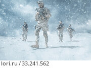 Купить «infantrymen in action», фото № 33241562, снято 6 июня 2020 г. (c) PantherMedia / Фотобанк Лори