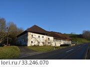 Купить «farmhouse,old farmhouse,agriculture,steinbach an der steyr,steinbach,ruin,dilapidated,farmhouse,steinbach», фото № 33246070, снято 26 мая 2020 г. (c) PantherMedia / Фотобанк Лори
