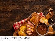 Купить «Honey flavoured duck breast fillet», фото № 33246458, снято 26 февраля 2020 г. (c) PantherMedia / Фотобанк Лори