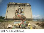 THAILAND KANCHANABURI SANGKHLABURI FLOODET TEMPLE. Стоковое фото, фотограф ursa lexander flueler / PantherMedia / Фотобанк Лори