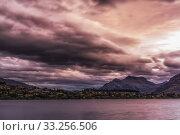 stormy clouds lake wakatipu. Стоковое фото, фотограф Insung Choi / PantherMedia / Фотобанк Лори