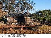 Купить «seongyojang taken in winter. Located in Gangneung,  South Korea.», фото № 33257794, снято 13 июля 2020 г. (c) PantherMedia / Фотобанк Лори
