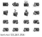 Купить «set of money icons», фото № 33261354, снято 10 июля 2020 г. (c) PantherMedia / Фотобанк Лори