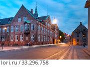 Bishop's House in Copenhagen, Denmark (2018 год). Стоковое фото, фотограф Коваленкова Ольга / Фотобанк Лори