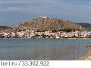 Купить «View of the promenade of the capital of the island of Salamis (Greece)», фото № 33302922, снято 2 марта 2020 г. (c) Татьяна Ляпи / Фотобанк Лори