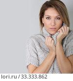 Portrait of beautiful middle-aged woman. Стоковое фото, фотограф Fabrice Michaudeau / PantherMedia / Фотобанк Лори