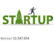 Купить «Concept of green start-up and venture capital», фото № 33347654, снято 4 августа 2020 г. (c) Elnur / Фотобанк Лори
