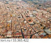 Купить «Aerial perspective of Reus cityscape», фото № 33365422, снято 17 января 2019 г. (c) Яков Филимонов / Фотобанк Лори
