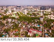 Купить «Aerial view of Voronezh», фото № 33365434, снято 4 мая 2019 г. (c) Яков Филимонов / Фотобанк Лори
