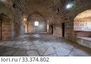 Купить «The room on the second storey of Kolossi Castle. Kolossi. Limassol District. Cyprus», фото № 33374802, снято 12 июня 2018 г. (c) Serg Zastavkin / Фотобанк Лори