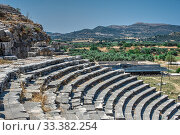 Купить «Miletus Ancient City and Theatre in Turkey», фото № 33382254, снято 20 июля 2019 г. (c) Sergii Zarev / Фотобанк Лори