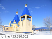 Купить «Свято-Казанский женский монастырь. п. Мутной. Камчатский край», эксклюзивное фото № 33386502, снято 2 марта 2020 г. (c) syngach / Фотобанк Лори