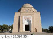 Купить «The Mausoleum Rukhabad in Samarkand. Uzbekistan», фото № 33397554, снято 15 октября 2019 г. (c) Наталья Волкова / Фотобанк Лори