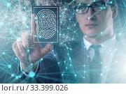 Biometrics security access concept with fingerprint. Стоковое фото, фотограф Elnur / Фотобанк Лори