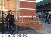 Купить «Москва в дни самоизоляции во время коронавируса», эксклюзивное фото № 33449202, снято 28 марта 2020 г. (c) Дмитрий Неумоин / Фотобанк Лори