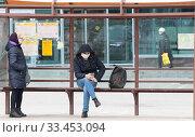 Купить «Балашиха, пустые улицы города в дни самоизоляции из-за Коронавируса», эксклюзивное фото № 33453094, снято 30 марта 2020 г. (c) Дмитрий Неумоин / Фотобанк Лори