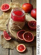 Купить «Натюрморт с красными апельсинами», фото № 33462870, снято 30 марта 2020 г. (c) Марина Володько / Фотобанк Лори