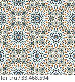 Vintage seamless pattern. Seamless template for your design. Стоковая иллюстрация, иллюстратор Ольга Козырина / Фотобанк Лори