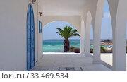 Купить «Ayia Thekla Chapel. Ayia Napa. Cyprus», видеоролик № 33469534, снято 30 марта 2020 г. (c) Serg Zastavkin / Фотобанк Лори