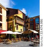 Streets of Spanish city Gijon (2019 год). Стоковое фото, фотограф Яков Филимонов / Фотобанк Лори
