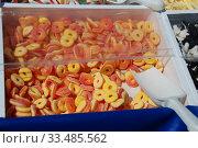 Купить «Разноцветный жевательный мармелад», эксклюзивное фото № 33485562, снято 9 мая 2010 г. (c) lana1501 / Фотобанк Лори