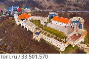 Ruins of castle of Janowiec, Lublin Voivodeship (2020 год). Стоковое фото, фотограф Яков Филимонов / Фотобанк Лори