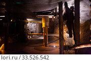 Miner equipment in salt mine of Wieliczka. Редакционное фото, фотограф Яков Филимонов / Фотобанк Лори