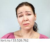 Обиженная женщина, портрет. Стоковое фото, фотограф Кекяляйнен Андрей / Фотобанк Лори