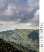 Купить «Landscape of Sierra Maestra, Granma Province, Cuba.», фото № 33553686, снято 22 апреля 2019 г. (c) age Fotostock / Фотобанк Лори