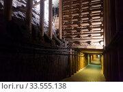 Corridors in Wieliczka salt mine. Редакционное фото, фотограф Яков Филимонов / Фотобанк Лори