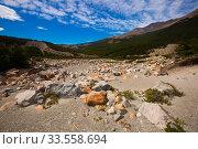 Купить «Views of landscape of Andes foothills», фото № 33558694, снято 1 февраля 2017 г. (c) Яков Филимонов / Фотобанк Лори