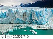 Купить «Glacier Perito Moreno, southeast of Argentina», фото № 33558710, снято 2 февраля 2017 г. (c) Яков Филимонов / Фотобанк Лори