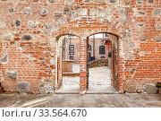 Купить «Mir Castle Complex. Republic of Belarus», фото № 33564670, снято 9 марта 2020 г. (c) Parmenov Pavel / Фотобанк Лори
