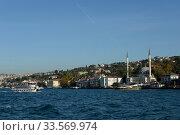 Вид на азиатскую часть Стамбула с пролива Босфор. Редакционное фото, фотограф Free Wind / Фотобанк Лори