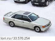 Купить «Ford Scorpio», фото № 33570254, снято 28 марта 2020 г. (c) Art Konovalov / Фотобанк Лори