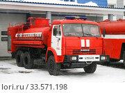 Купить «Kamaz 53228», фото № 33571198, снято 17 марта 2008 г. (c) Art Konovalov / Фотобанк Лори