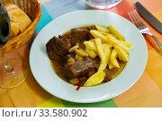 Купить «Asturian country-style veal stew», фото № 33580902, снято 5 июля 2020 г. (c) Яков Филимонов / Фотобанк Лори